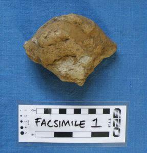 Small quartzite sarsen nodule, 2013