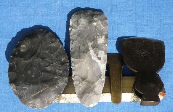 stone, bronze, iron