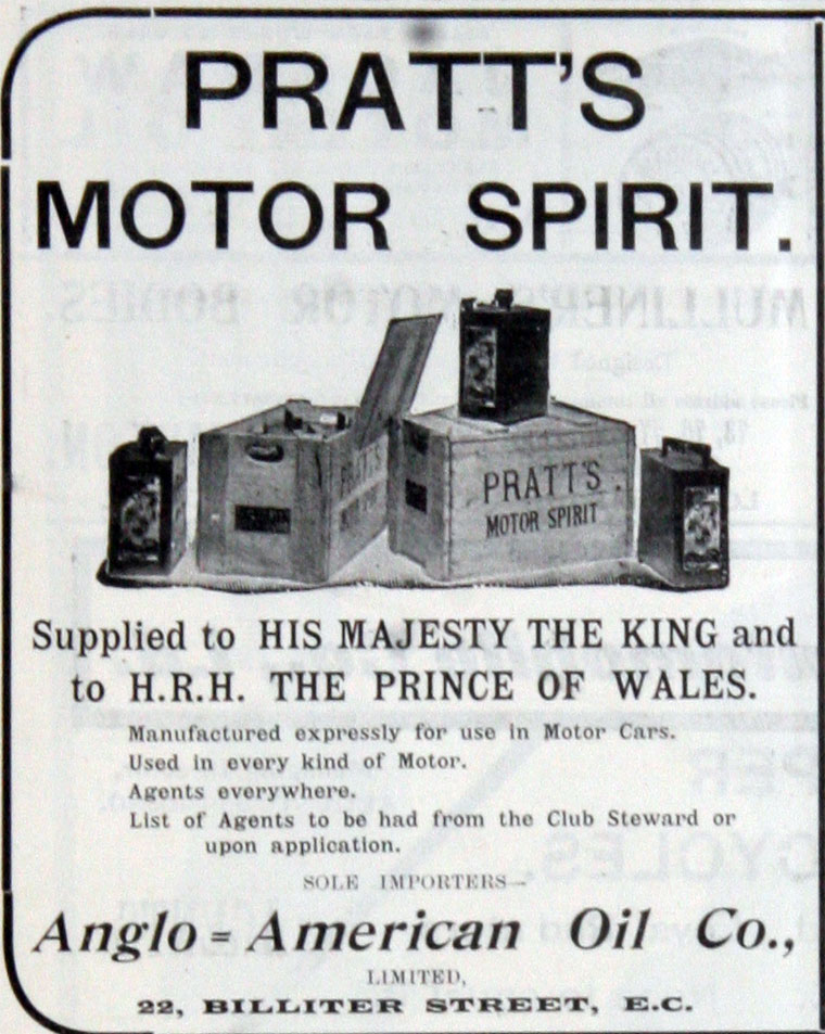 Pratts Motor Spirit